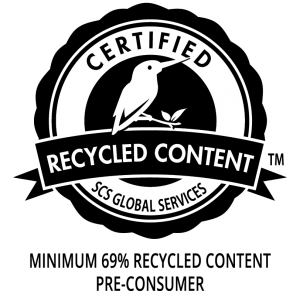 SCS Global Services - Certified Recycled Content badge